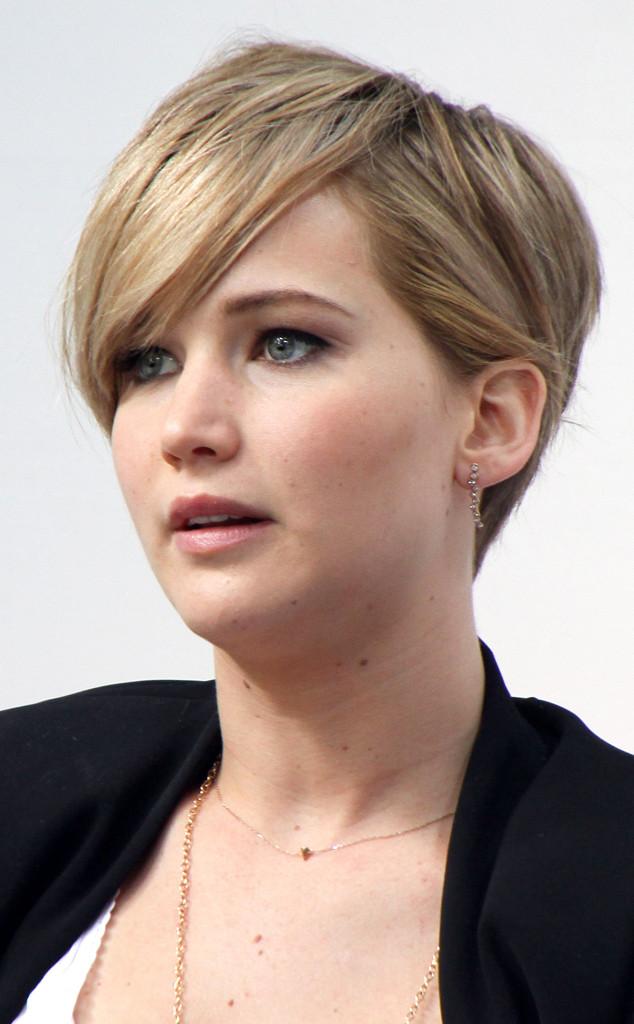 Jennifer Lawrence Why I Cut My Hair E Online