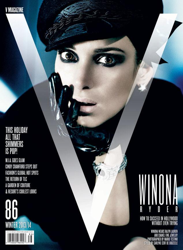 Winona Ryder, V Magazine