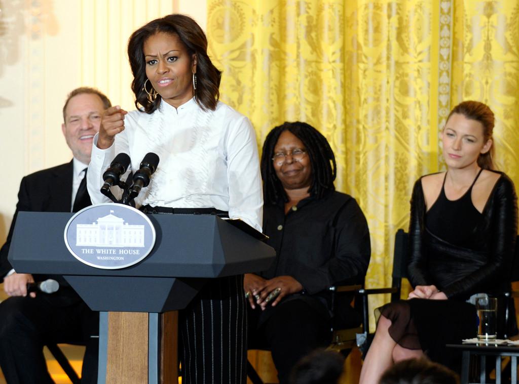 Michelle Obama, Ryan Coogler, Harvey Weinstein, Whoopi Goldberg, Blake Lively