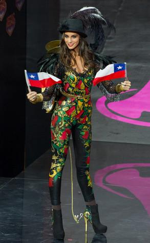 Miss Universo, Miss Peru, Miss Chile