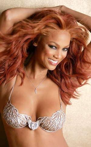 Tyra Banks, Victoria Secret Fantasy Bra 2004