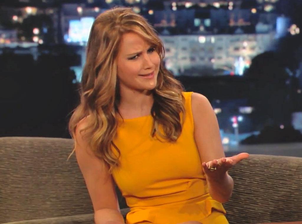 Jennifer Lawrence, Jimmy Kimmel