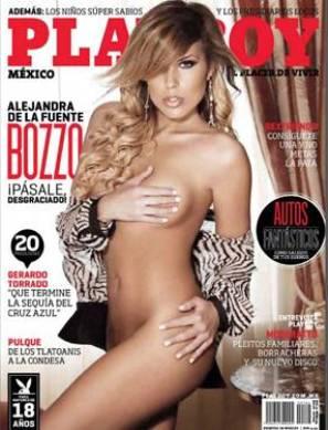 Alejandra de la Fuente Bozzo, Playboy