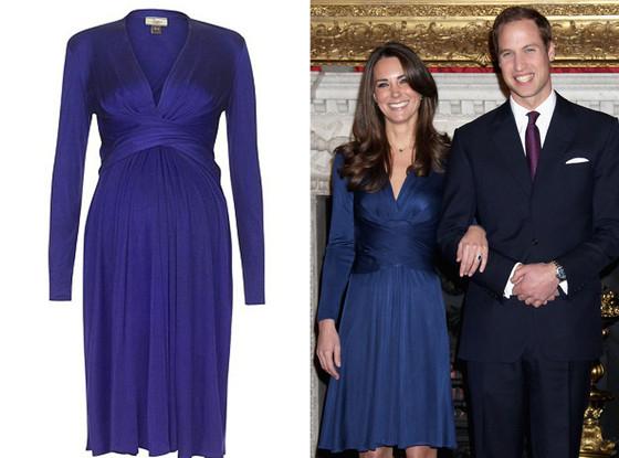 Kate Middleton, Engagement Dress