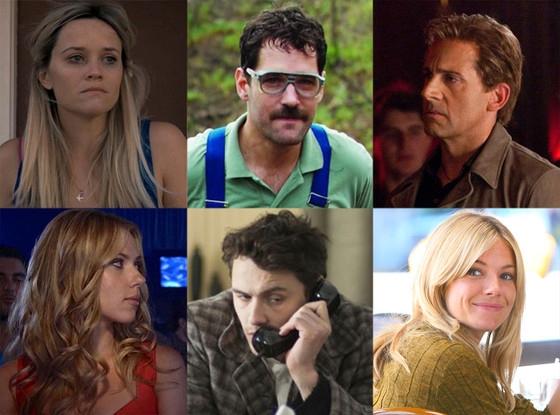 Reese Witherspoon, Mud, Scarlett Johansson, Don Jon's Addiciton, Sienna Miller, Yellow, Steve Carell, Incredible Burt Wonderstone, Paul