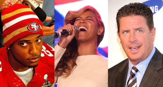 Dan Marino, Beyonce, Chris Culliver