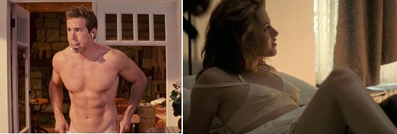 Ryan Reynolds, Kristen Stewart, pelados