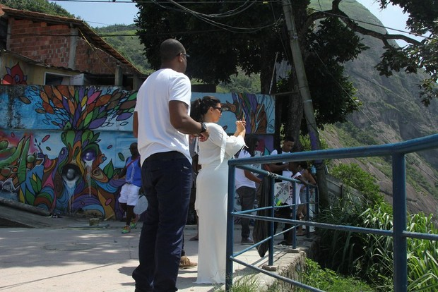 Kim Kardashian, Kanye West e Will Smith