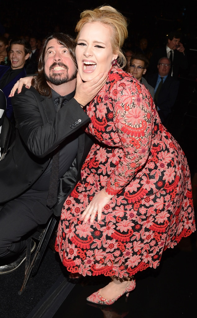 Dave Grohl, Adele, Grammys