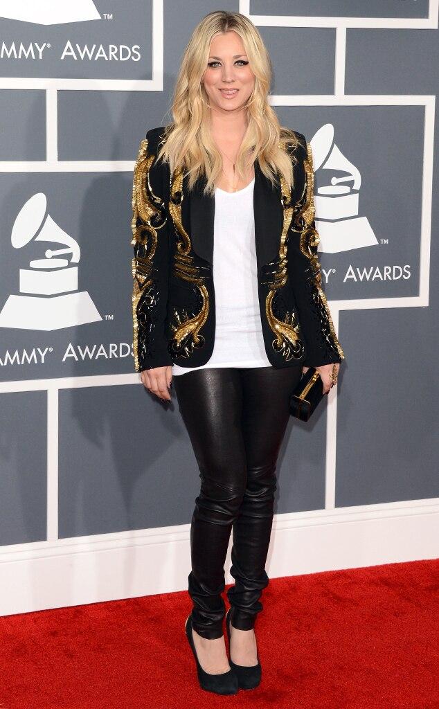 Kaley Cuoco, Grammys