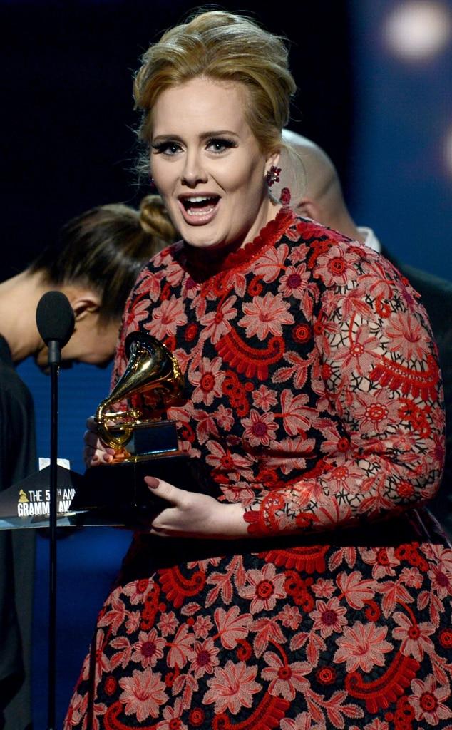 Adele, Grammy Winner