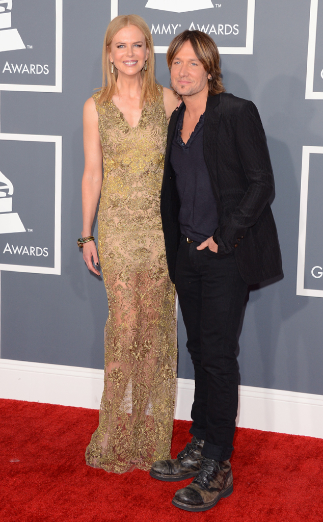 Nicole Kidman, Keith Urban, Grammys