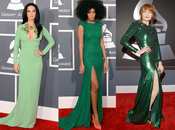 Katy Perry, Solange Knowles, Florence Welch, Grammys