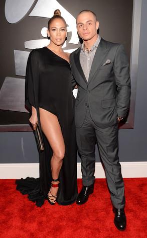 Jennifer Lopez. Casper Smart, Grammys