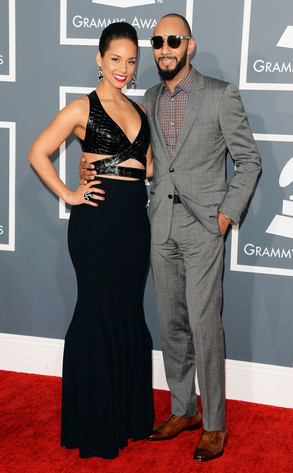 Alicia Keys, Swizz Beatz, Grammys