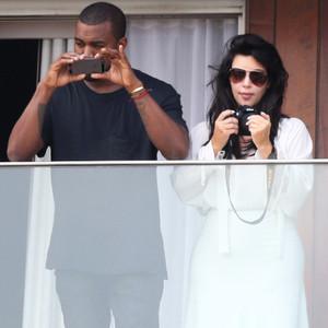 Kim Kardashian, Kanye West, Brazil