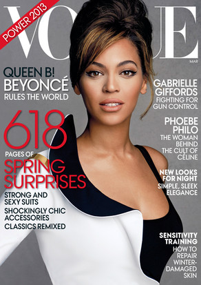 Beyonce, Vogue Magazine Cover