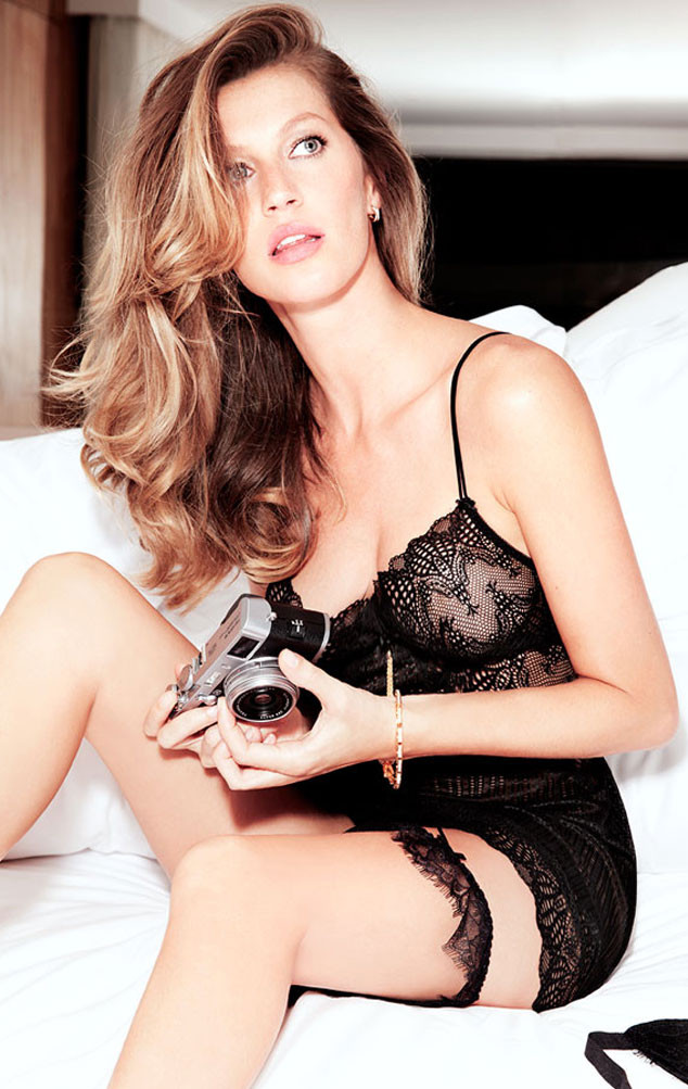 Gisele Bndchen Stuns In Sexy New Lingerie Campaignsee The Pics  E News-2335