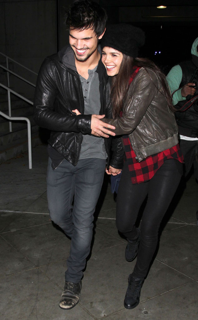 Taylor Lautner's New G... Taylor Lautner Girlfriend
