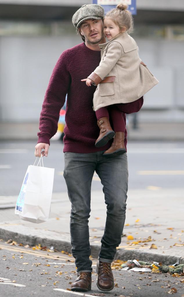 David Beckham, Harper Backham