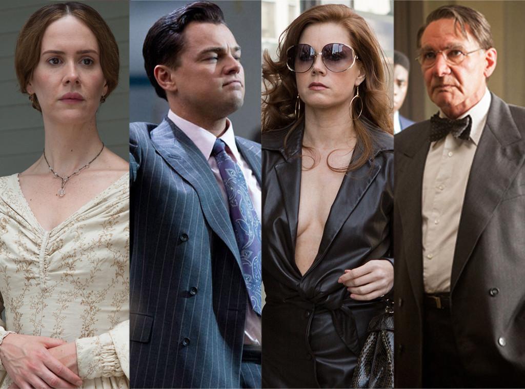 Leonardo DiCaprio, Amy Adams, Harrison Ford, Sarah Paulson