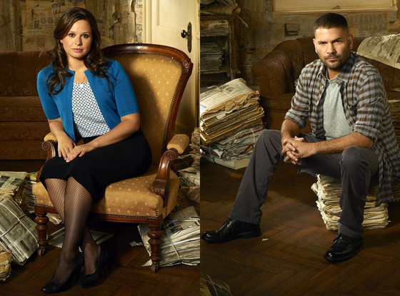 Guillermo Diaz, Katie Lowes, Scandal