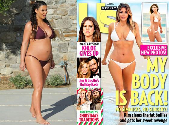 Kim Kardashian, Bikini Body