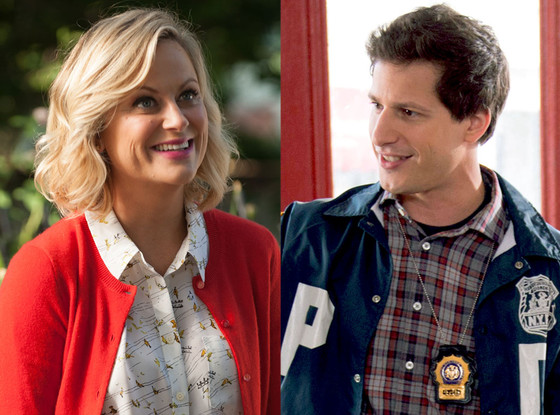 Amy Poehler, Parks and Recreation, Andy Samberg, Brooklyn 911