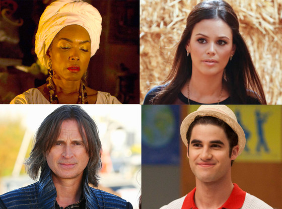 AHS: Coven, Once Upon a Time, Hart of Dixie, Glee