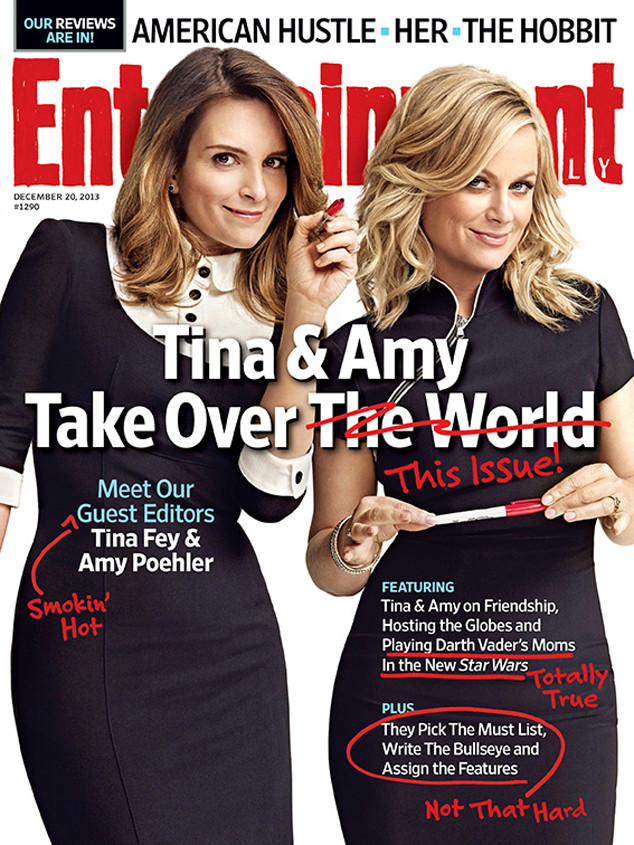 Tina Fey, Amy Poehler, Entertainment Weekly