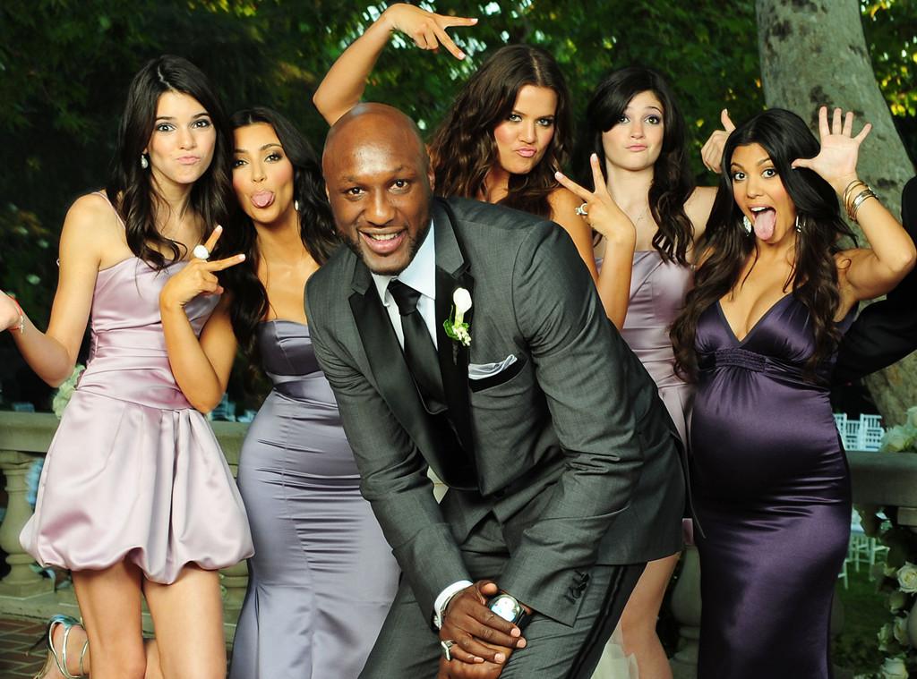 Khloe & Lamar's Love Story: He's Forever Kardashian Family - E! Online