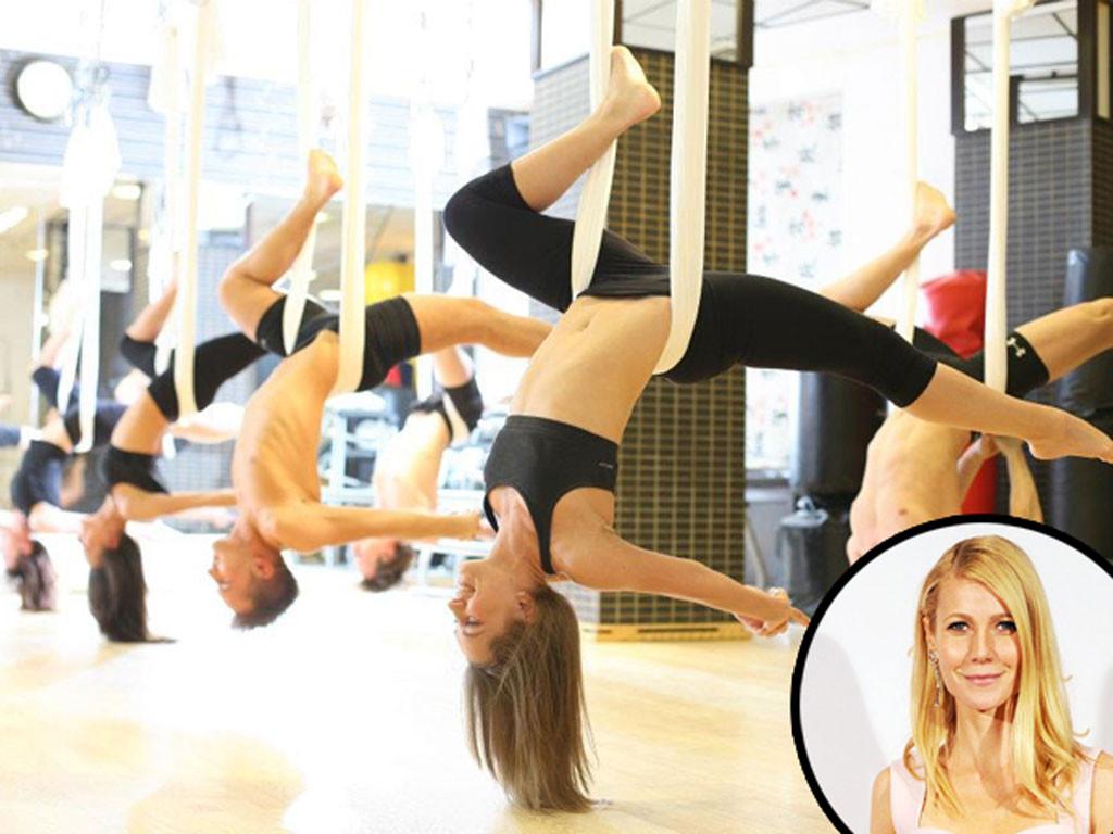 Aerial Fitness, Gwyneth Paltrow