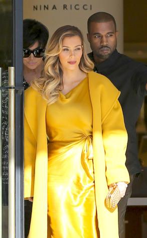 Kim Kardashian, Kris Jenner, Kanye West