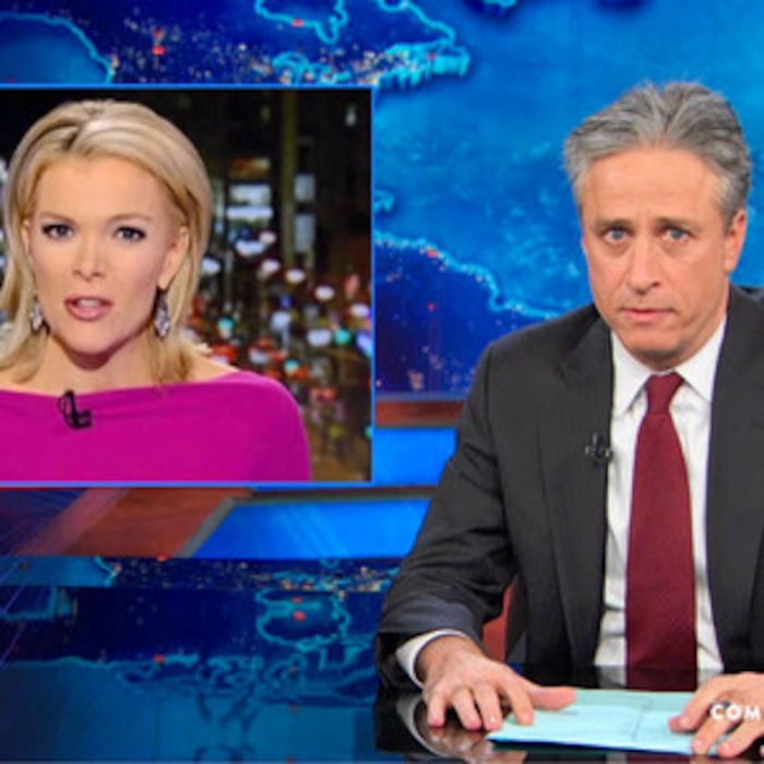 Jon Stewart Takedown of Megyn Kelly\'s Santa Is White Rant Is Perfect ...