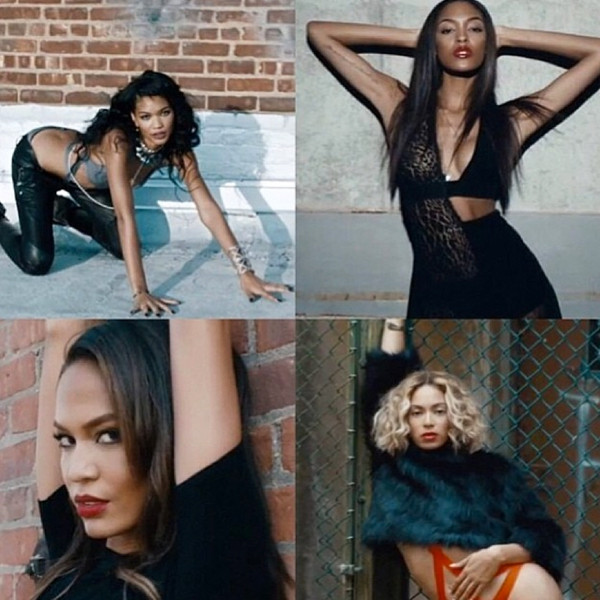Chanel Iman, Jourdan Dunn, Beyonce