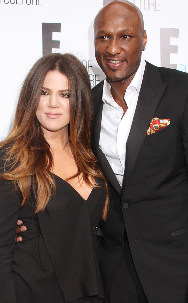 Khloe Kardashians Love Story Lamar Odom Star Athlete And