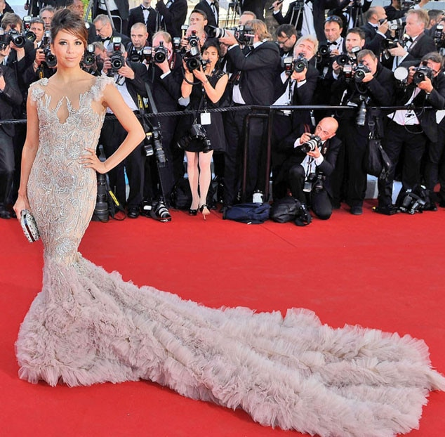 Eva Longoria -  Longoria is basically the queen of the Cannes Film Festival, and she proves why she reigns supreme with this over-the-top gown.