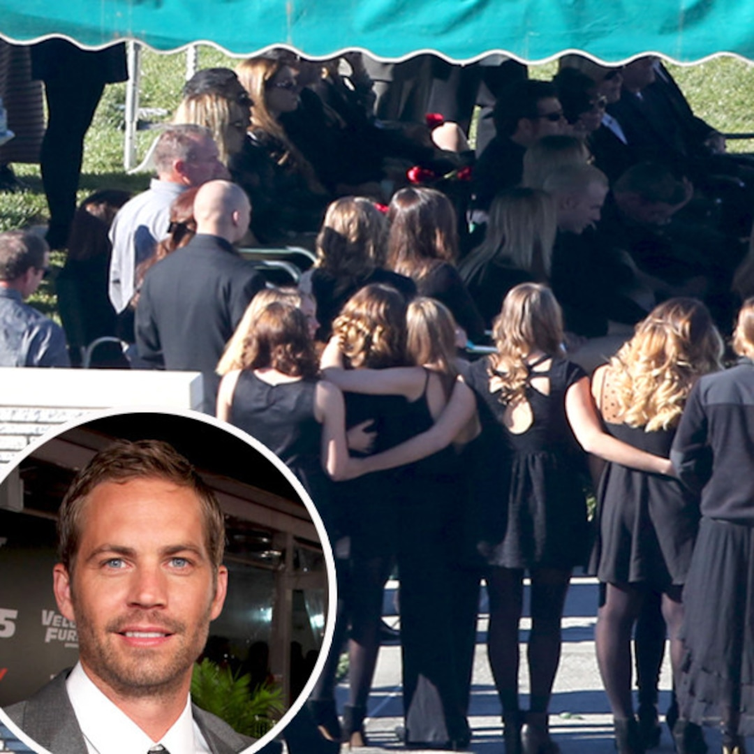 Paul Walker S Funeral Family And Close Friends Say Final Goodbyes E Online