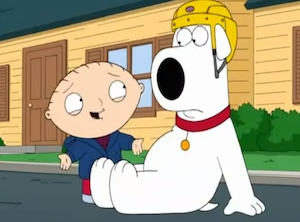 Family Guy, Brian, Stewie