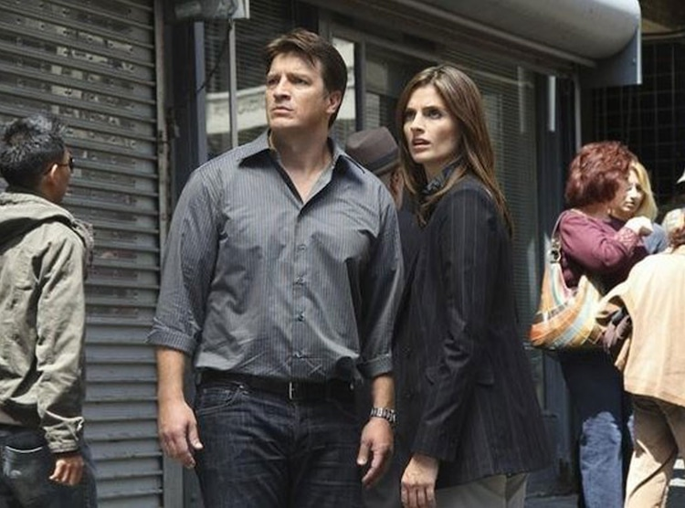 5  Castle & Beckett, Castle from 2013's TV Couples We Love