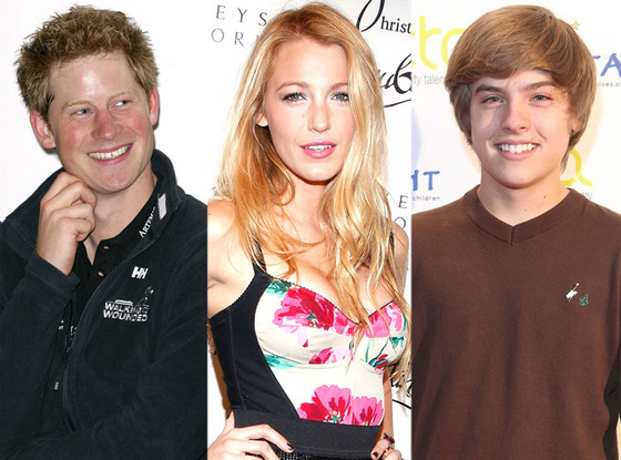 Celeb Nude Scandals, Prince Harry, Blake Lively, Dylan Sprouse