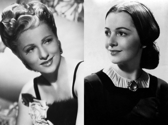 Joan Fontaine, Olivia de Havilland