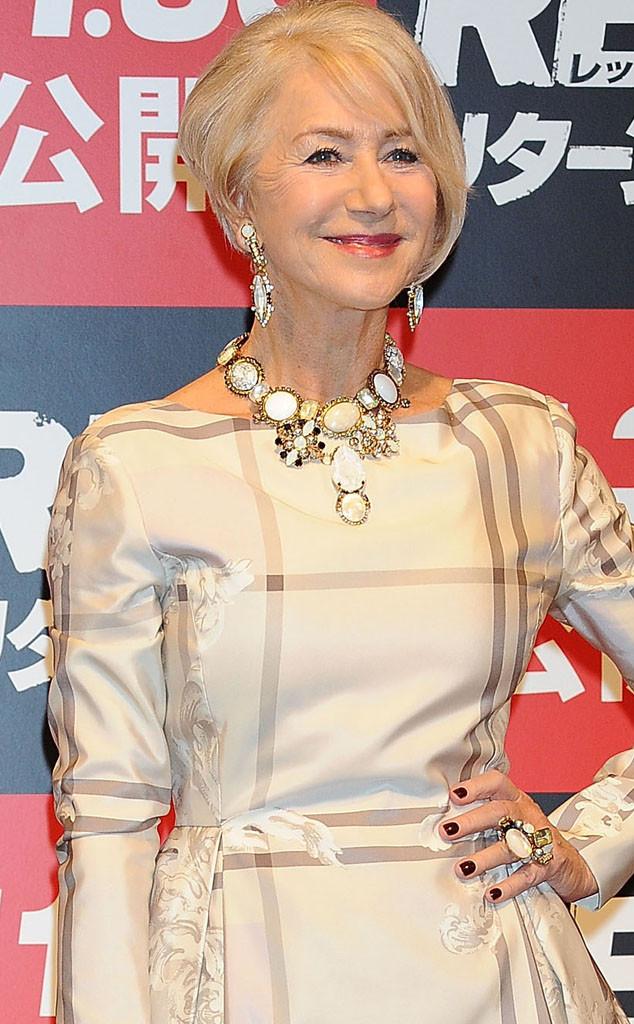 Helen Mirren, Red 2 Premiere, Tokyo