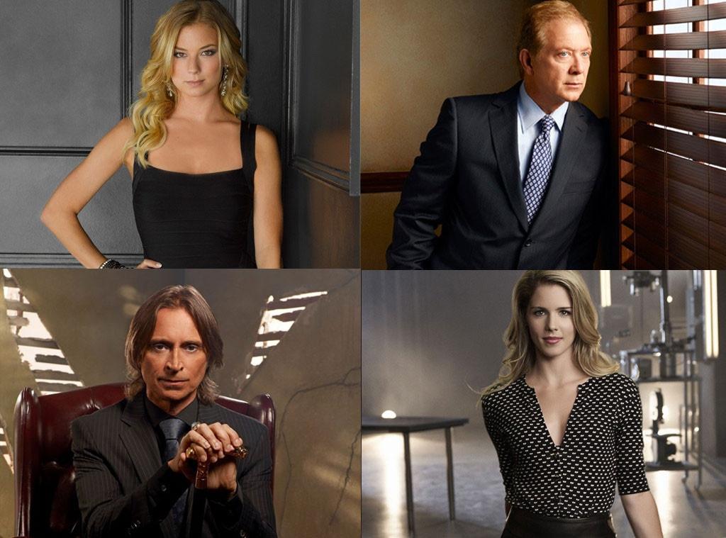 Jeff Perry, Scandal, Emily Bett Rickards, Arrow, Robert Carlyle, Once, Emily VanCamp, Revenge