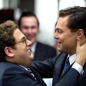 Jonah Hill, Leonardo DiCaprio, The Wolf of Wall Street