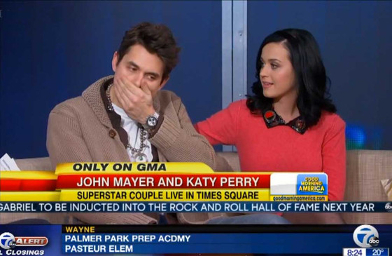 John Mayer, Katy Perry, GMA