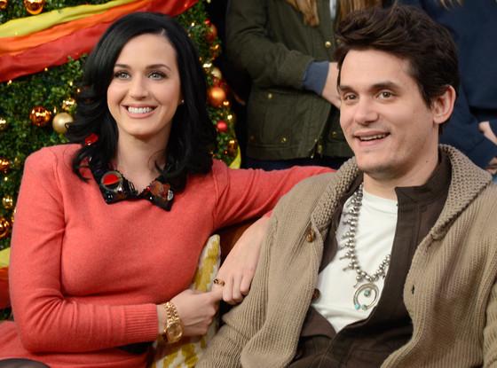 Katy Perry, John Mayer, Good Morning America