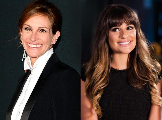 Julia Roberts, Lea Michele Glee