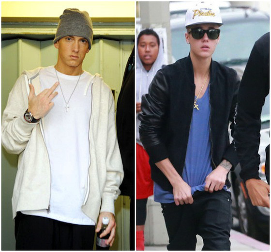 Eminem, Justin Bieber