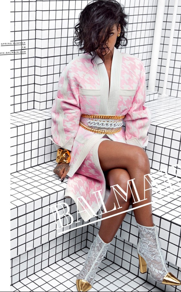Rihanna, Balmain